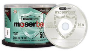 SCRATCH GUARD  DVD (Mosebaer)